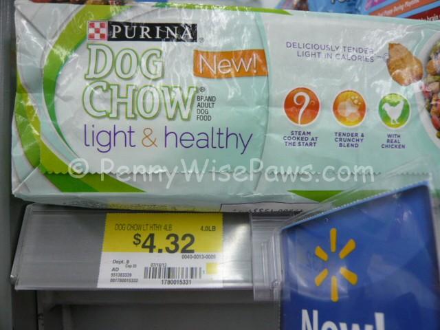 Purina light and healthy dog food coupons