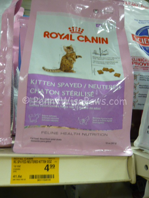 image about Royal Canin Printable Coupon titled Royal Canines Rebates and a 3/1 printable coupon! - PennyWisePaws