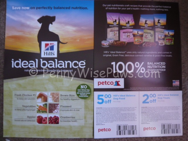 Watch Out For Coupon Flyers At Petco 51 Hills Ideal Balance Dog