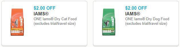 Iams dog food printable coupons 2018