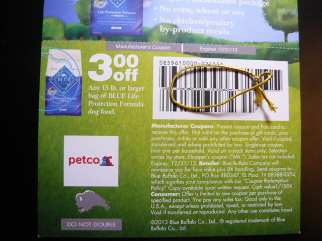 blue buffalo coupon code