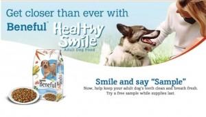 beneful healthy smile sample