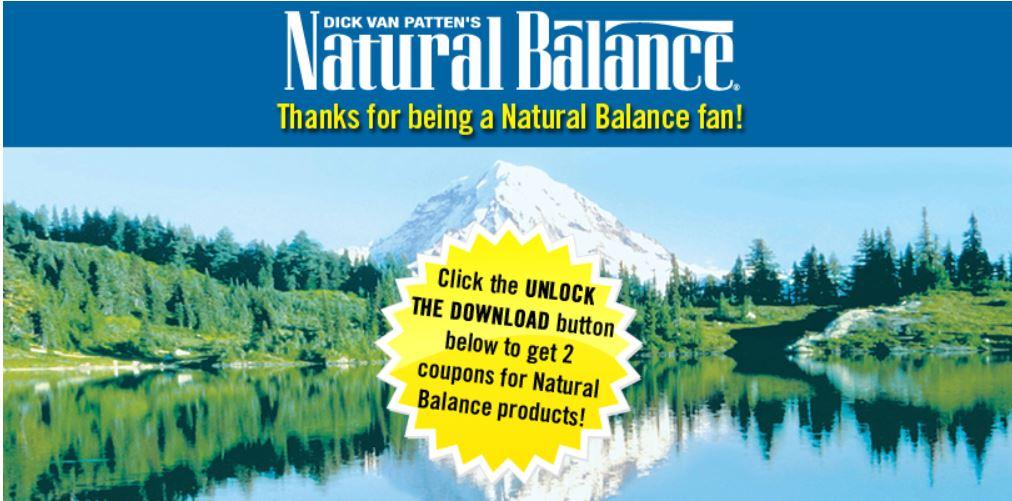 New Printable Natural Balance Coupons Up To 8 Off Dental Chews And