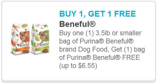 New Bogo Beneful Printable Coupon Free To Cheap Beneful In Many Stores Petco Walmart Target Pennywisepaws