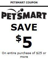 petsmart 5 off 25 april 2014