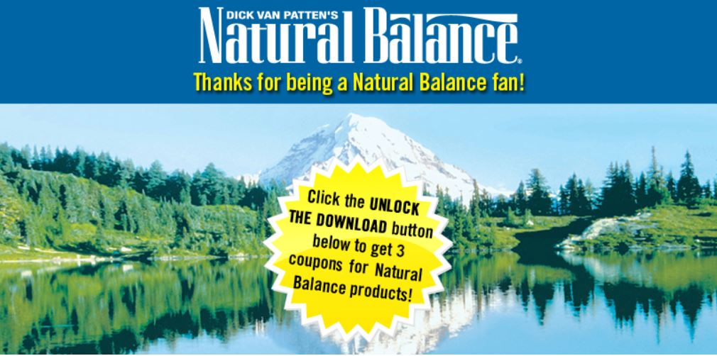 natural balance coupons facebook
