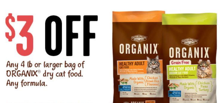 Castor and pollux dog food coupons