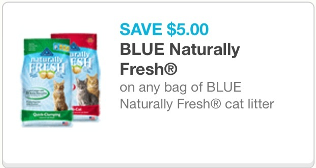 image regarding Cat Litter Printable Coupons titled Blue In a natural way Fresh new printable coupon - PennyWisePaws