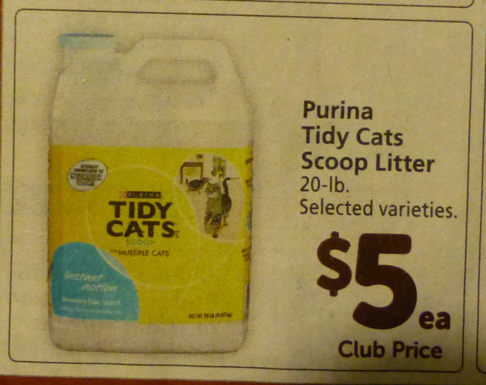 Printable coupons cat litter