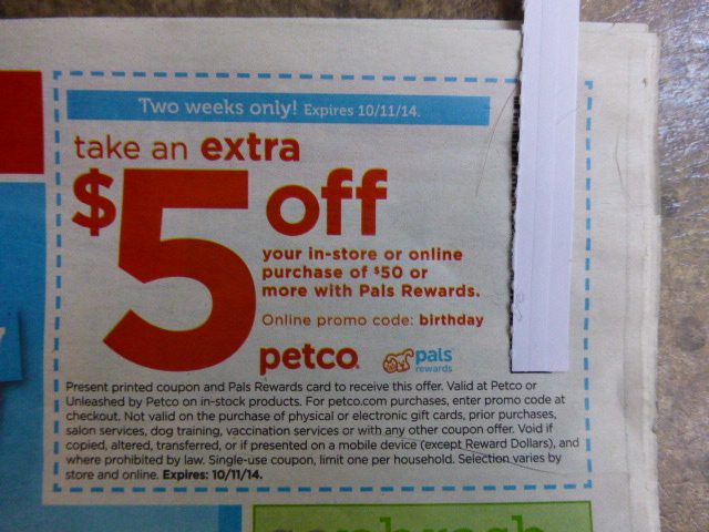 Petco grooming coupons
