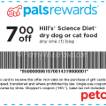 Hills Prescription Diet Coupons >> Petco 3 1 Hill S Science Diet Dog Or Cat Food Printable