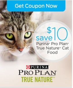 10 off Purina Pro Plan True Nature