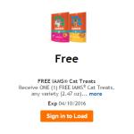 free iams treats