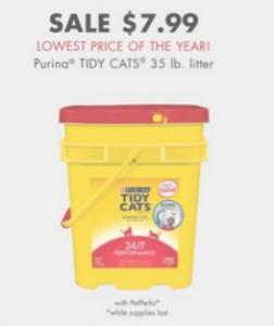 petsmart 2016 black friday cat litter deal