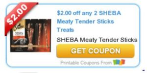 meaty sticks sheba coupon